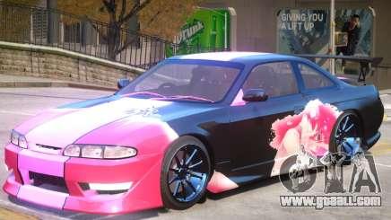 Nissan Silvia S14 V1 PJ1 for GTA 4
