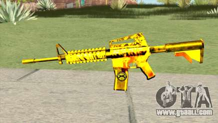 M4A1 Gold (French Armed Forces) for GTA San Andreas