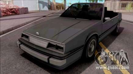 GTA IV Willard Cabrio for GTA San Andreas