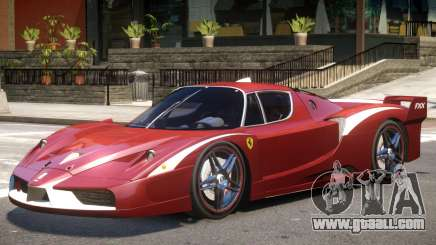 Ferrari FXX Evo V1 for GTA 4