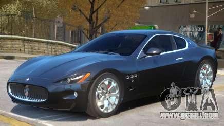 Maserati Gran Turismo S V1 for GTA 4