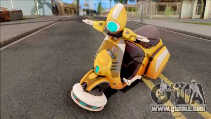 Ilios Motoscooter from Overwatch for GTA San Andreas