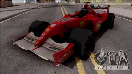 Ferrari F2005 F1 for GTA San Andreas
