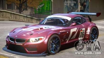 BMW Z4 GT3 V1 PJ1 for GTA 4