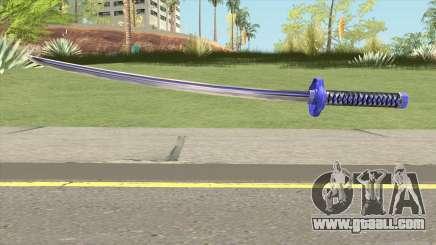 Purple Katana for GTA San Andreas