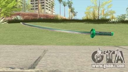 Green Katana for GTA San Andreas