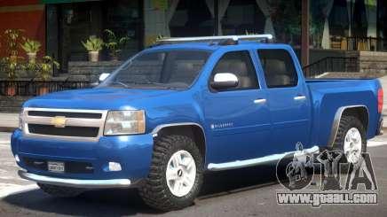 Chevrolet Silverado V1.0 for GTA 4