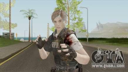 Leon Bandaged (RE2 Remake) for GTA San Andreas