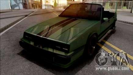 GTA IV Willard Cabrio Custom for GTA San Andreas