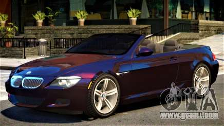 BMW M6 Cabrio for GTA 4