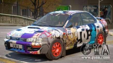 Subaru Impreza Rally Edition V1 PJ5 for GTA 4