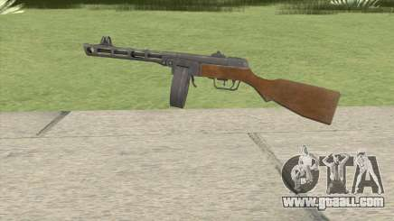 PPSH-41 (COD-WaW) for GTA San Andreas