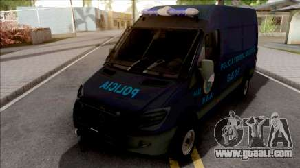 Mercedes-Benz Sprinter Policia Federal Argentina for GTA San Andreas