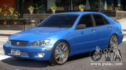 Lexus IS300 R1 for GTA 4