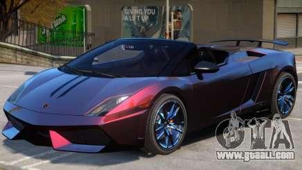 Gallardo Spyder Performante for GTA 4