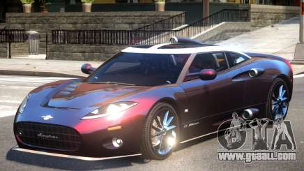 Spyker C8 V1 for GTA 4