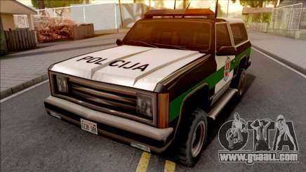 Lietuviska Police Ranger for GTA San Andreas