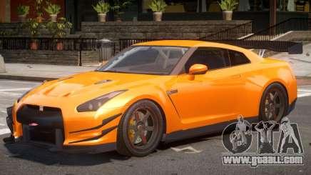 Nissan GT-R V1.0 for GTA 4