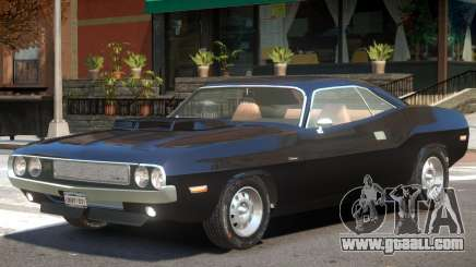 1970 Dodge Challenger V1.2 for GTA 4