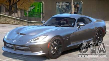 Dodge Viper GTS V2.1 for GTA 4
