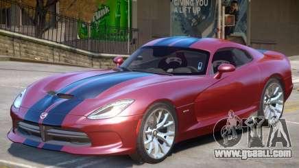 Dodge Viper GTS V2.3 for GTA 4