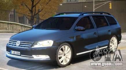 Volkswagen Passat B7 for GTA 4