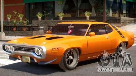 Plymouth Roadrunner for GTA 4