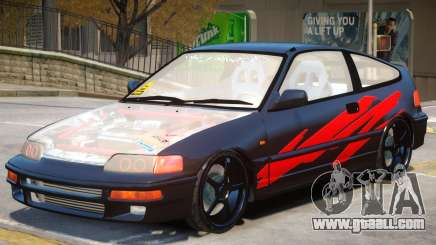 1992 Honda CRX V1 for GTA 4