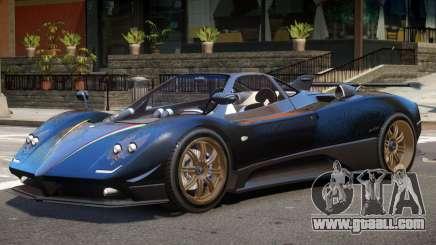 Pagani Zonda F V1.2 for GTA 4