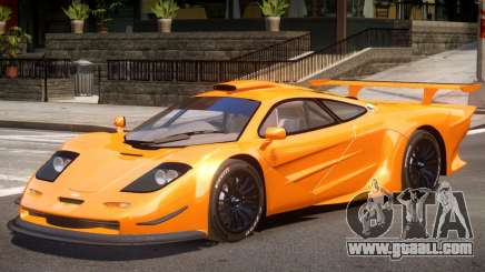 McLaren F1 V1.1 for GTA 4