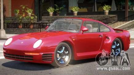 Porsche 959 V1 for GTA 4