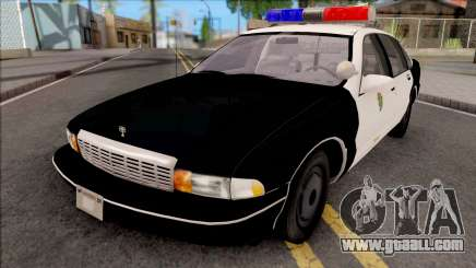 Chevrolet Caprice Resident Evil 3 Remastered for GTA San Andreas