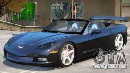 Corvette C6 Roadster for GTA 4