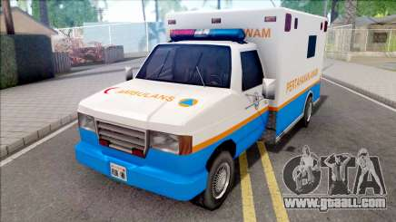 Ambulance Malaysia APM for GTA San Andreas