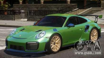 Porsche 911 GT2 RS V2 for GTA 4