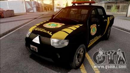 Mitsubishi L200 Triton 2010 Policia Federal for GTA San Andreas