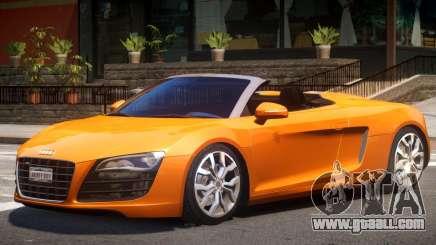 Audi R8 FSI Spyder for GTA 4