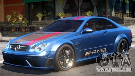 Mercedes CLK63 AMG V1 PJ2 for GTA 4