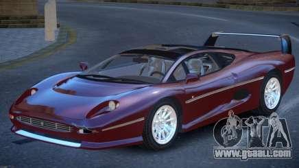 Jaguar XJ220 V1.2 for GTA 4