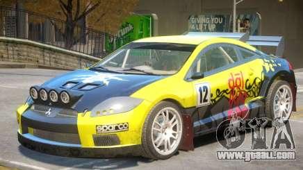 Mitsubishi Eclipse Rally PJ6 for GTA 4