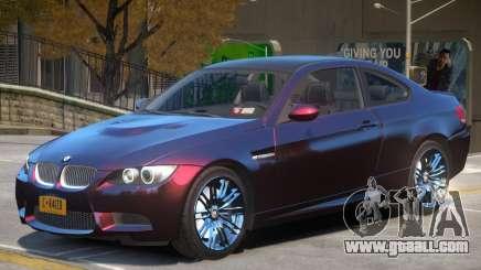 BMW M3 E92 Improved for GTA 4