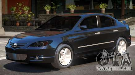 Mazda 3 V1.1 for GTA 4