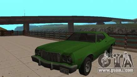 Ford Gran Torino 1974 Green for GTA San Andreas