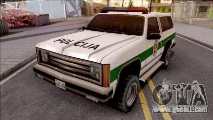 Lietuviska Police Ranger v2 for GTA San Andreas