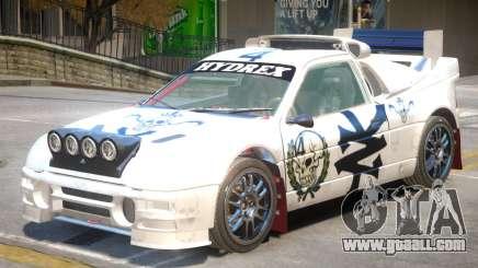 Ford RS200 Drift V1 PJ3 for GTA 4
