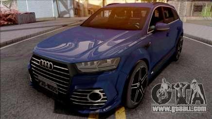 Audi SQ7 TDI for GTA San Andreas