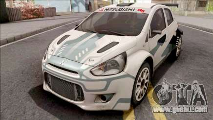 Mitsubishi Mirage R5 WRC for GTA San Andreas