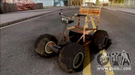 Wheelchair Mod for GTA San Andreas