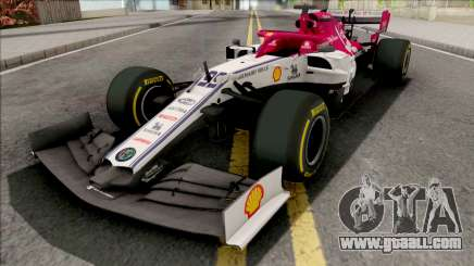 Alfa Romeo C38 F1 2019 for GTA San Andreas