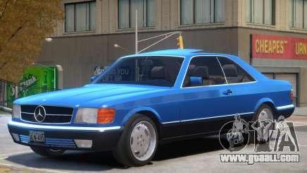 1987 Mercedes W126 R1 for GTA 4